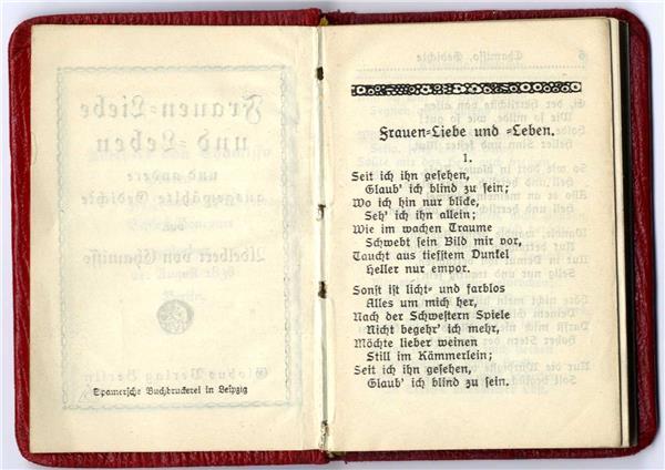 Frauen Liebe Und Leben Und Andere Ausgewählte Gedichte