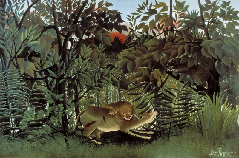Henri Rousseau - The Hungry Lion Throws Itself on the Antelope - 1905.jpg