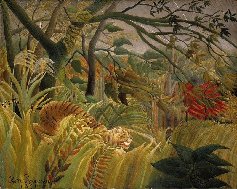 Henri Rousseau - Tiger in a Tropical Storm - 1891.jpg