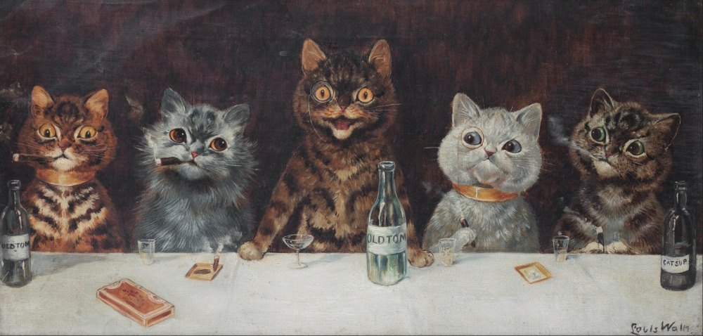 The Bachelor Party, Louis Wain